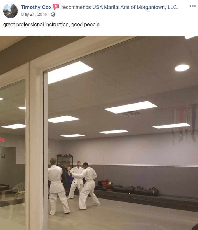 Adult 2, USA Martial Arts of Morgantown