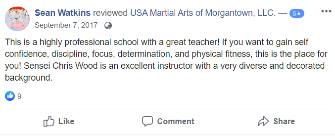 Adult 3, USA Martial Arts of Morgantown
