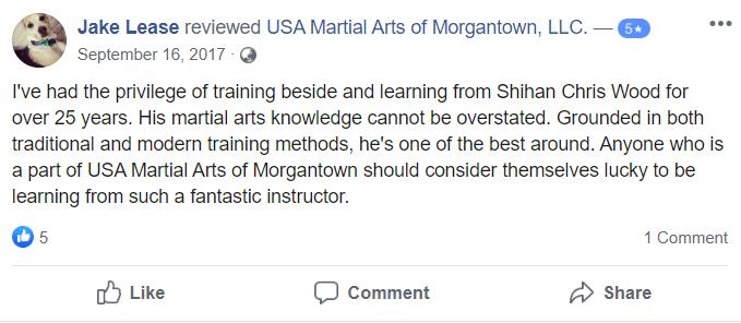 Adult 4, USA Martial Arts of Morgantown