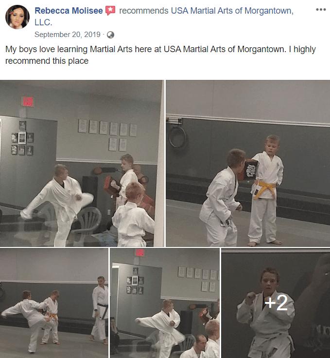 Kids 2, USA Martial Arts of Morgantown