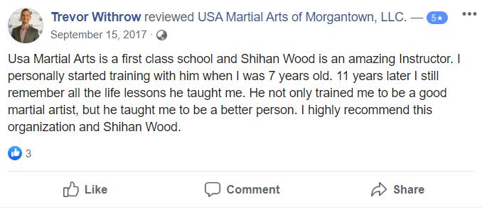 Kids 3, USA Martial Arts of Morgantown