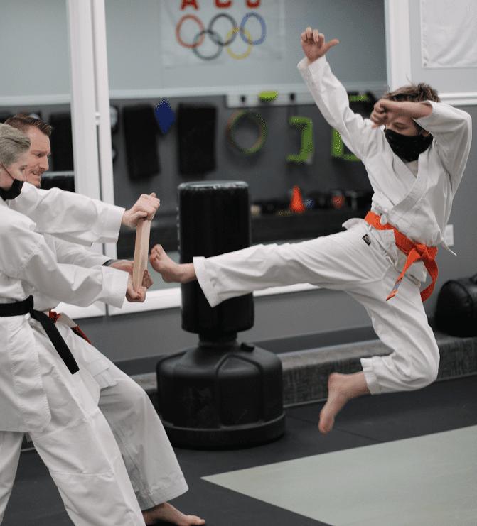 Kids Jump Kick1 2, USA Martial Arts of Morgantown