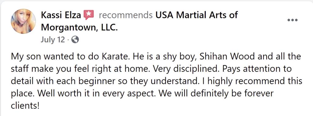 Review1 1024x380, USA Martial Arts of Morgantown