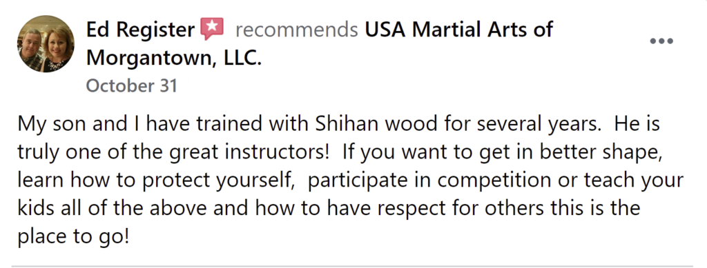 Review6 1024x389, USA Martial Arts of Morgantown
